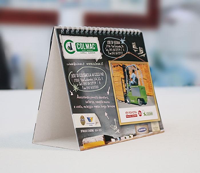 creazione calendari da tavolo verona