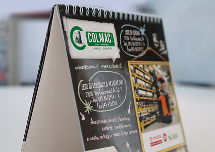 calendari da tavolo personalizzati verona