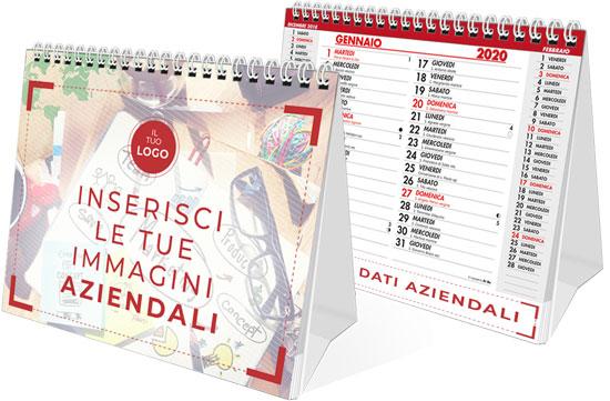 calendari da tavolo personalizzati 2020 con immagini personalizzate